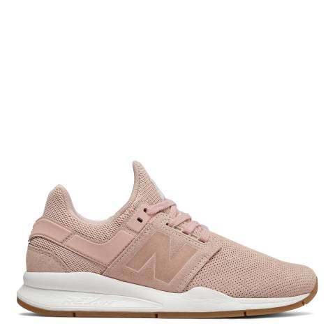 New Balance Pink Classic 247 Sneakers