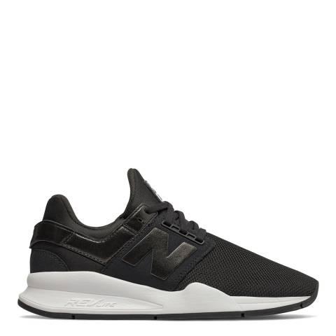 New Balance Black Classic 247 Sneakers
