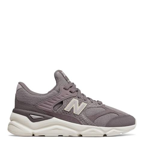 New Balance Grey X-90 Sneakers
