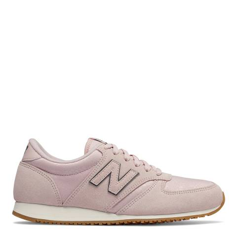 New Balance Beige & Pink Classic 420 Sneakers