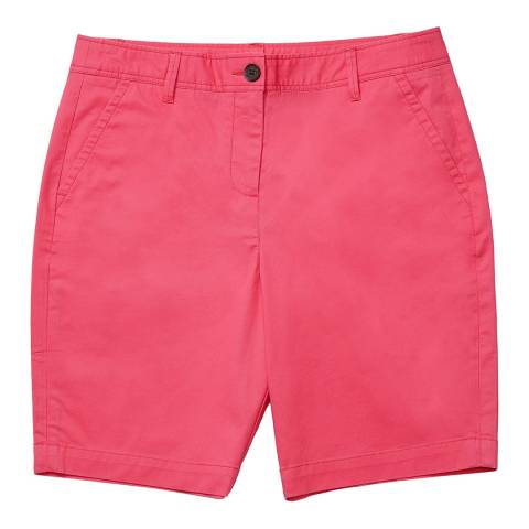 Crew Clothing Pink Cotton Chino Shorts