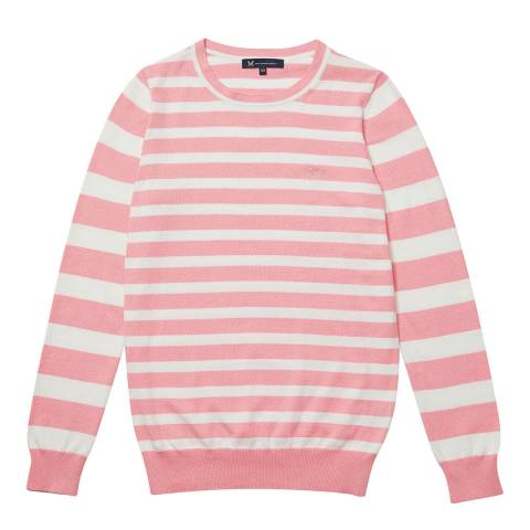 Crew Clothing Pink Foxy Jumper