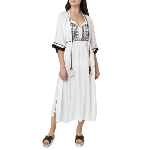 Pia Rossini White/Black Kaisa Dress