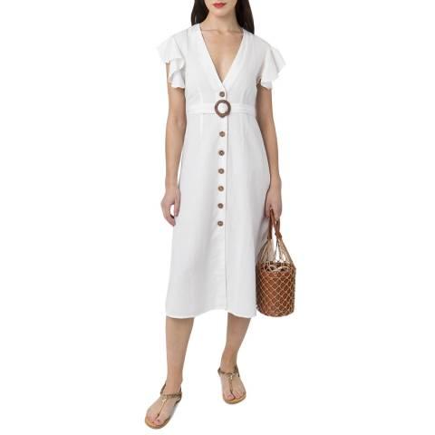 Pia Rossini White Dune Dress