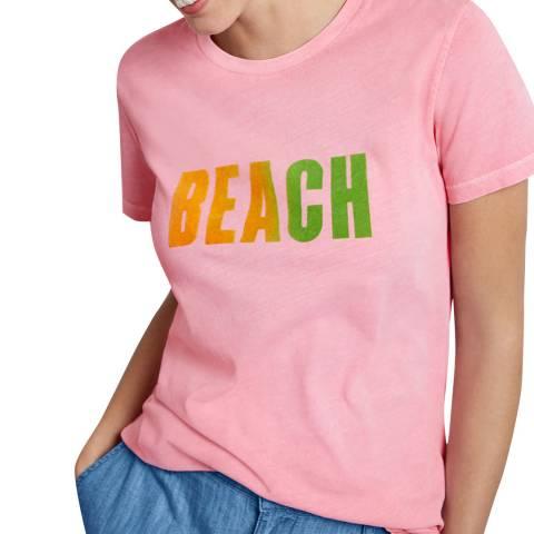 hush Pink Ombre Beach Tee
