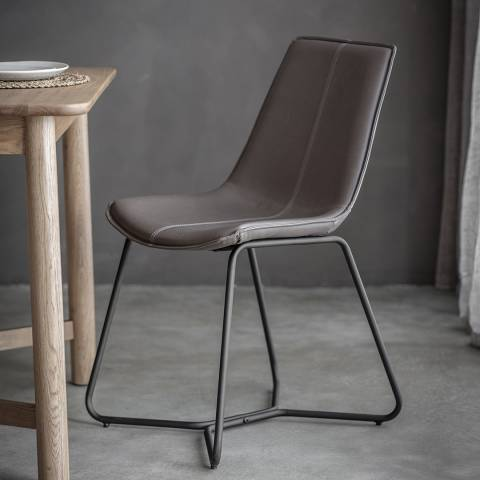 Gallery Set of 2 Hawking Chairs, Grey