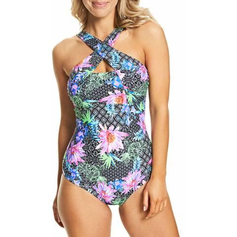 Zoggs Multi Mystique Classicback Swimsuit