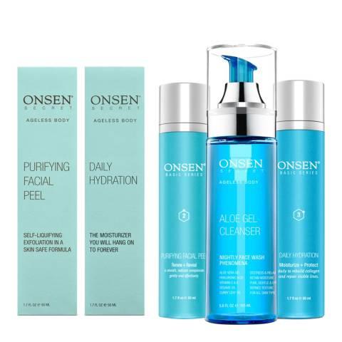 ONSEN Detox Renew Nourish Kit for Oily Skin