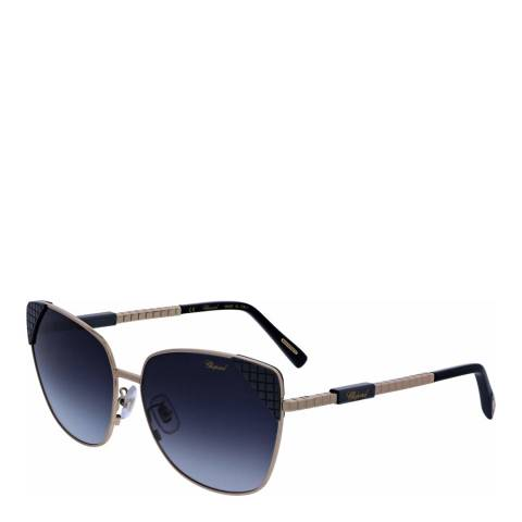 Chopard Women's Blue Chopard Sunglasses 61mm