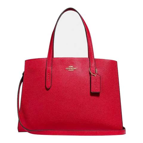 Coach Jasper Red Charlie Carryall