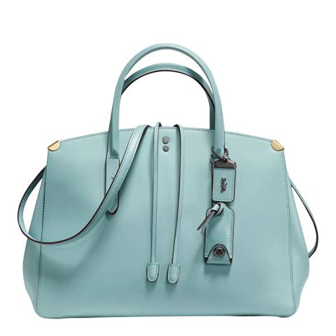 Coach Sage Leather Cooper Carryall