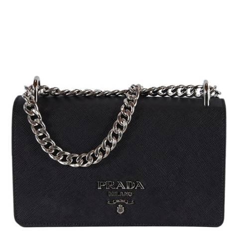 Prada Black Prada Leather Handbag