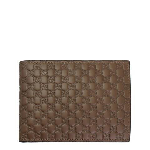 Gucci Men's Tan Gucci Leather Wallet
