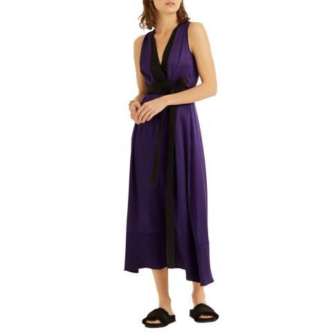 Amanda Wakeley Purple CBS Midi Dress