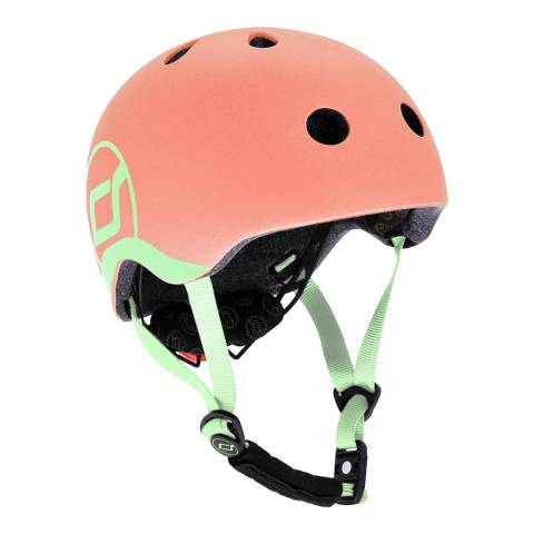 Scoot & Ride Peach Helmet XXS-S