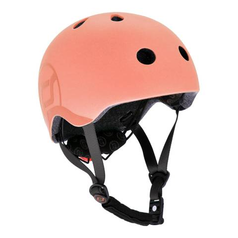 Scoot & Ride Peach Helmet S-M