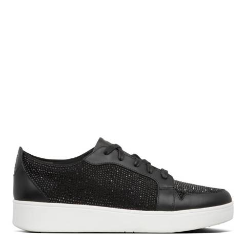 FitFlop Black Collet Crystal Sneakers