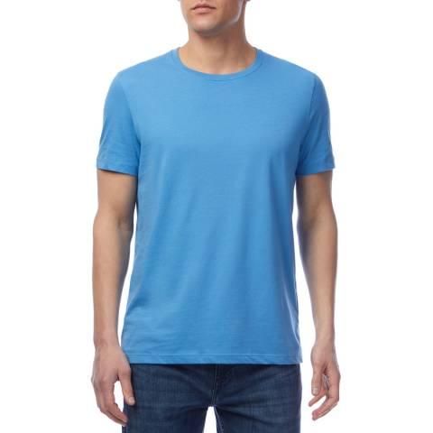 BOSS Light Blue Tessler Cotton T-Shirt