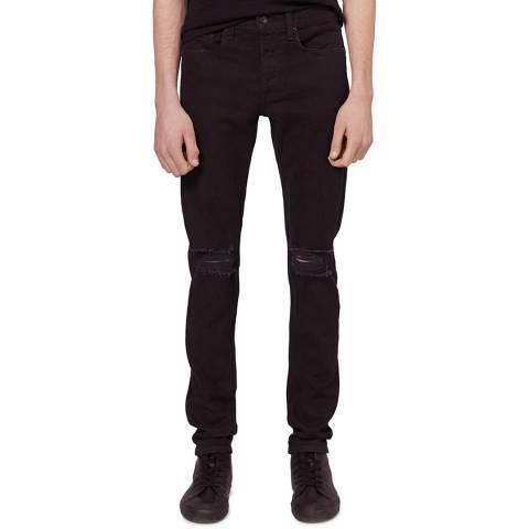 Rag & Bone Black Slim Fit Jeans