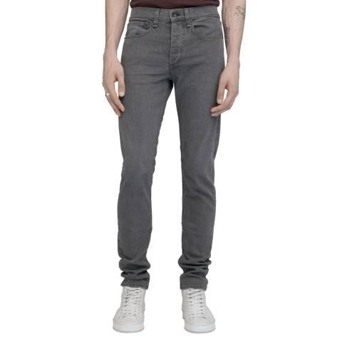 Rag & Bone Grey Slim Fit Jeans