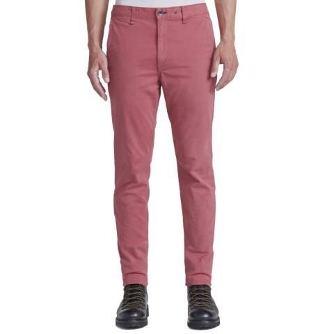 Rag & Bone Pink Slim Fit Cotton Chino