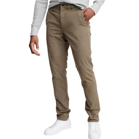 Rag & Bone Tan Slim Fit Cotton Chino
