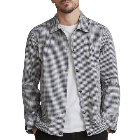 Rag & Bone Black/White Coaches Jacket
