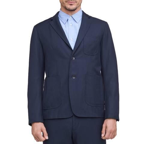 Rag & Bone Navy Casual Wool Patrick Blazer