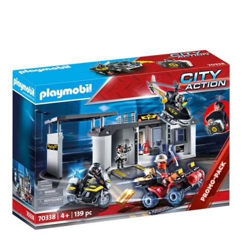 Playmobil City Action Take Along Tactical Unit Headquarters