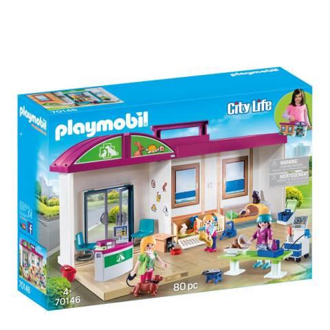 Playmobil City Life Take Along Vet Clinic