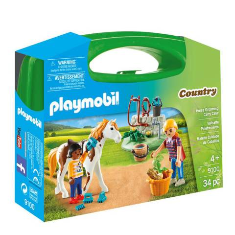 Playmobil Horse Grooming Carry Case