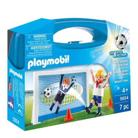Playmobil Soccer Shootout Carry Case