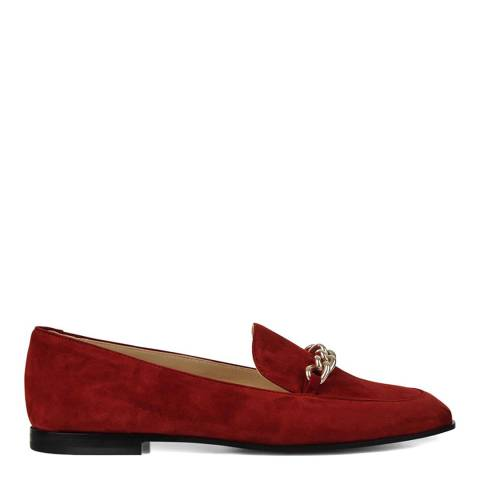 Hobbs London Orange Hannah Loafers