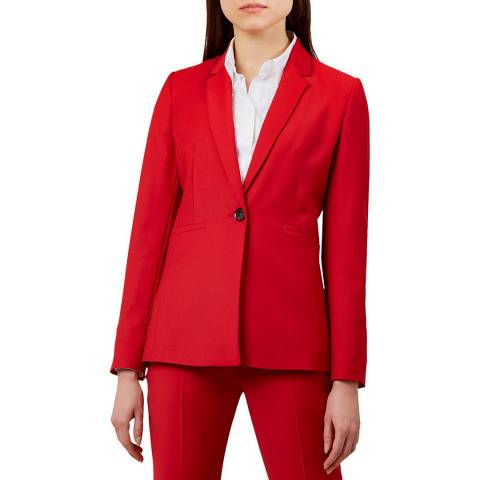 Hobbs London Red Ayla Jacket
