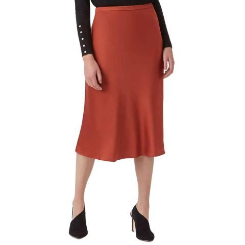 Hobbs London Rust Peyton Skirt
