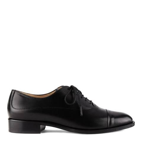 Hobbs London Black Faye Oxford Shoes