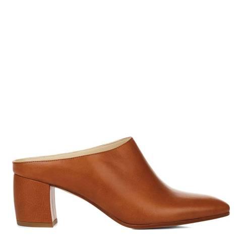 Hobbs London Tan Sienne Court Shoes