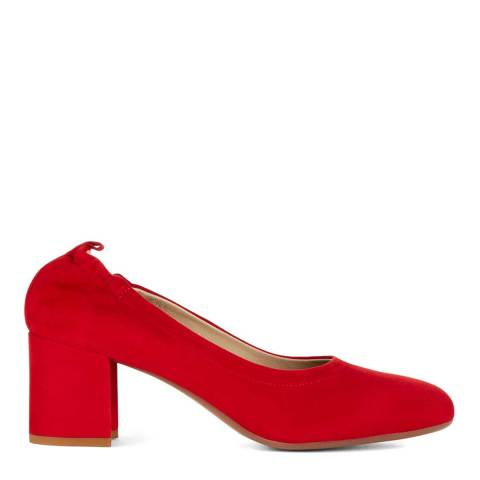 Hobbs London Red Suzi Court Shoes