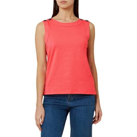 Hobbs London Pink Maddy Vest
