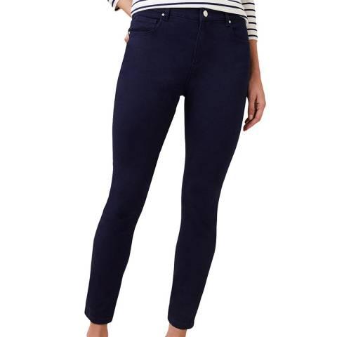 Hobbs London Blue Marianne 7/8 Stretch Jeans