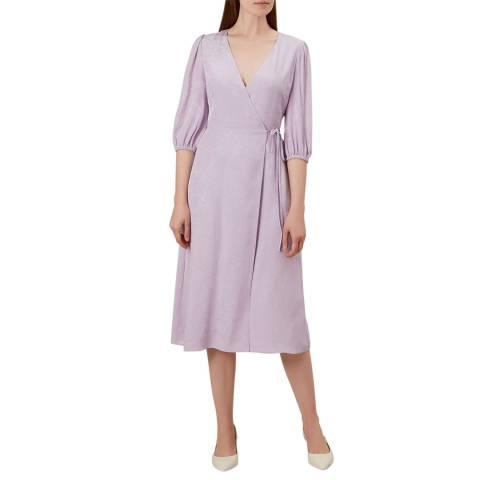 Hobbs London Lilac Lilah Dress