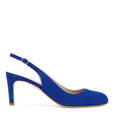 Hobbs London Electric Blue Sophie Slingback Heels