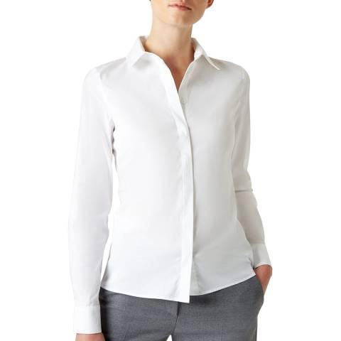 Hobbs London White Victoria Shirt