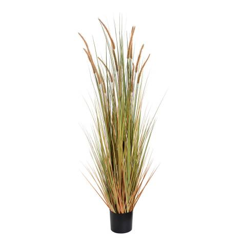Hill Interiors Field Grass Potted Faux Plant
