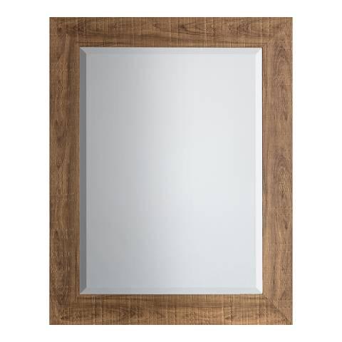 Gallery Oak Deacon Mirror 58x74cm