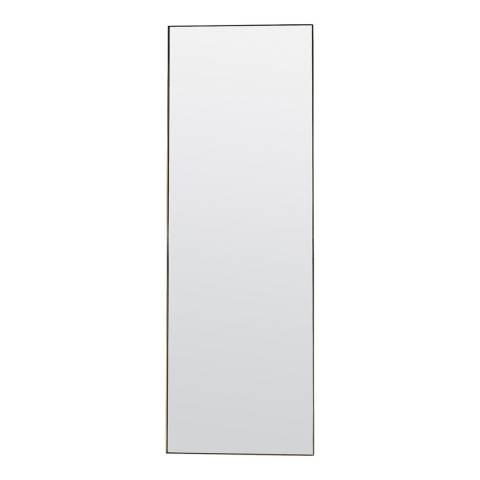 Gallery Champagne Hurston Leaner Mirror 50x170cm