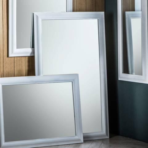 Gallery White Cobain Mirror 74x102cm