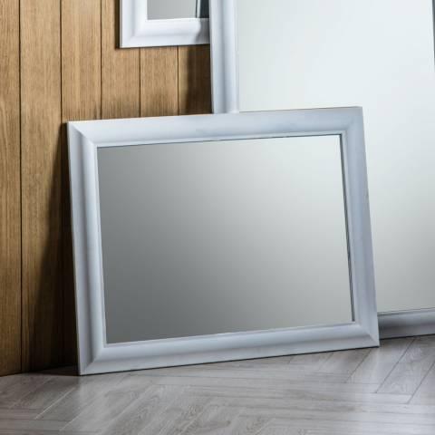 Gallery White Cobain Mirror 69x90cm
