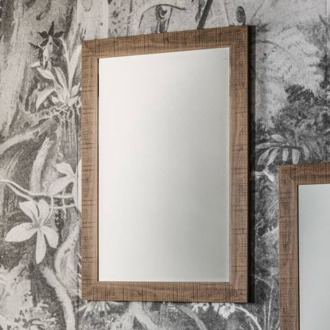 Gallery Oak Deacon Mirror 71x99cm
