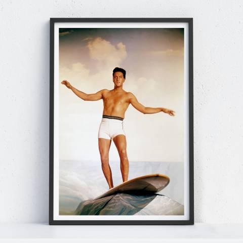 Iconic Prints Elvis Presley, Surfing